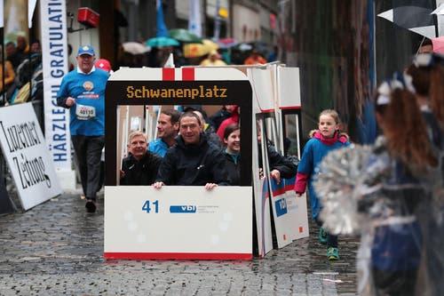 Impressionen vom Stadtlauf Luzern 2019. (Bild: Roger Zbinden, 4. Mai 2019)