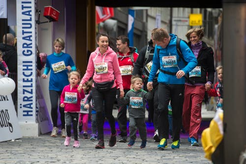 Impressionen vom Stadtlauf Luzern 2019. (Bild: Dominik Wunderli, 4. Mai 2019)