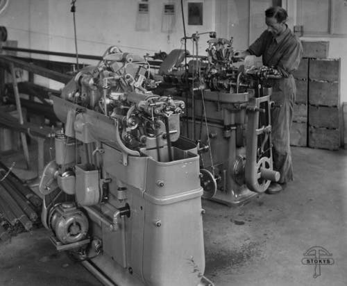 Die erste Produktionsstätte der Firma Stokys wurde Anfangs der 1940er-Jahre im Luzerner Maihofquartier errichtet. (Bild: Stokys Systeme AG)