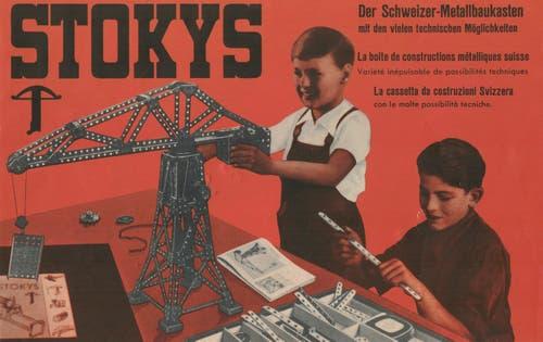 Eines der ersten Werbe-Bilder der Firma. (Bild: Stokys Systeme AG)