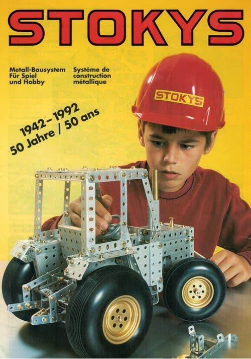 Werbeposter zum 50-Jahre-Jubiläum. (Bild: Stokys Systeme AG)