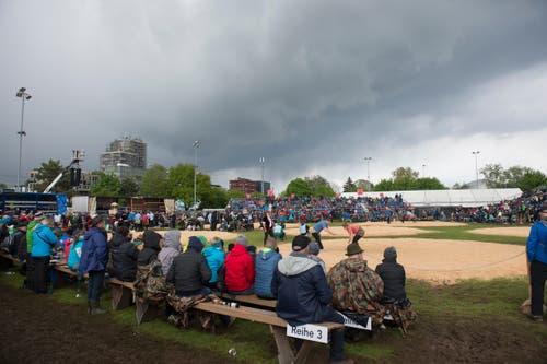 Das Fest fand auf dem Areal Sportpark in Rotkreuz statt. (Bild: Maria Schmid, Rotkreuz, 5. Mai 2019)