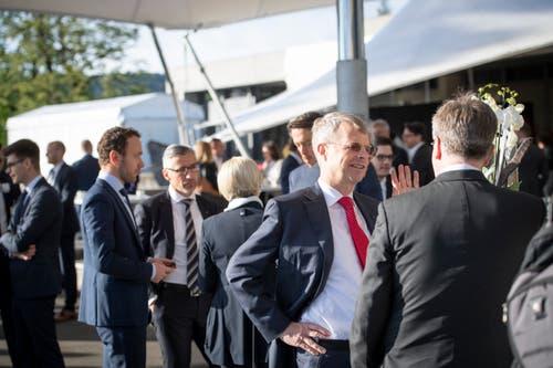 St. Gallen Symposium an der HSG St. Gallen, im Bild Peter Wuffli. (Bilder: Ralph Ribi)