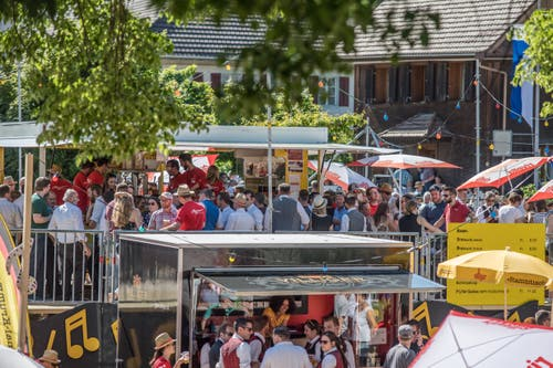 Impressionen vom Kantonal-Musiktag in Altishofen. (Bild: Pius Amrein, Altishofen, 1. Juni 2019)