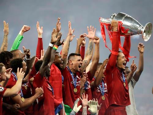 Zum sechsten Mal die Besten in Europa: der FC Liverpool (Bild: KEYSTONE/AP/FELIPE DANA)