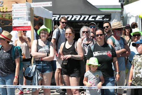Der Wettkampf zieht viele Zuschauer an. (Bild: Roger Zbinden, 1. Juni 2019)