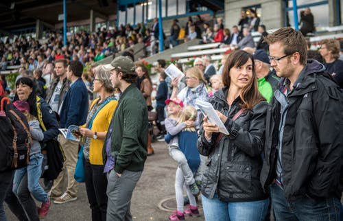 Pfingstrennen 2019 auf der Pferderennbahn in Frauenfeld. (Bilder: Reto Martin)