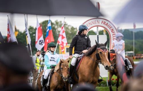Gemeinde-Cup am Pfingstrennen 2019 auf der Pferderennbahn in Frauenfeld. (Bilder: Reto Martin)