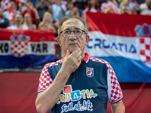 Die von Trainer Lino Cervar betreuten Kroaten gehören zu den absoluten Topteams, waren seit 2003 an jedem grossen Turnier in den Top 6 klassiert (Bild: KEYSTONE/URS FLUEELER)