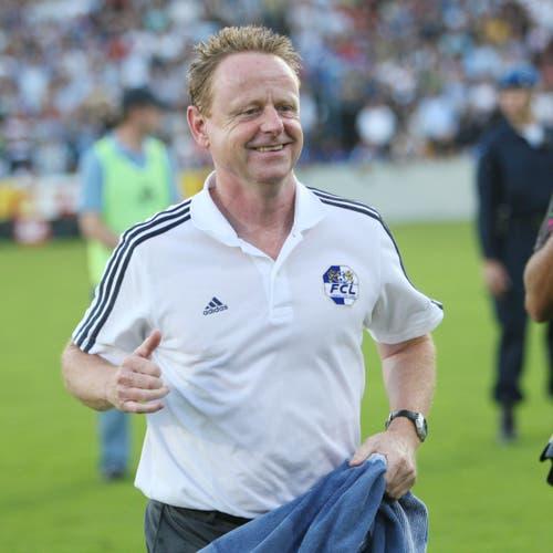 Luzern-Trainer Rolf Fringer. (Bild: Philipp Schmidli, Luzern, 13. Juni 2009)