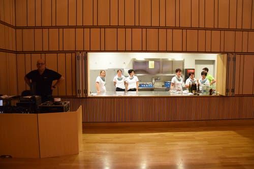 Für das kulinarische Wohl sorgte das Team des Mattenhofs.