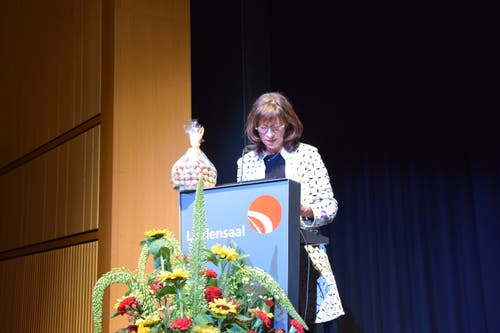 Regierungspräsidentin Heidi Hanselmann.