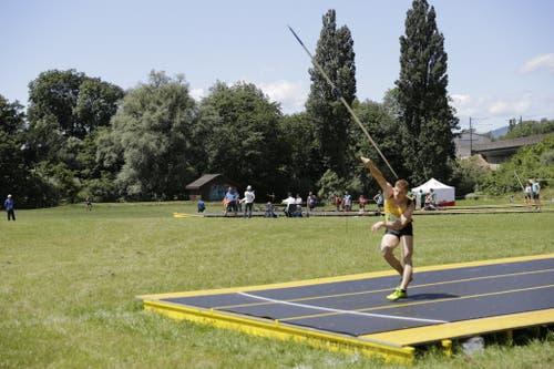 Auch die Leichtathletik-Wettkämpfe haben begonnen. (Bild: Rolf Hunziker/ETF)