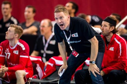 Nati-Trainer Michael Suter. (Bild: Philipp Schmidli, Zug, 12. Juni 2019)