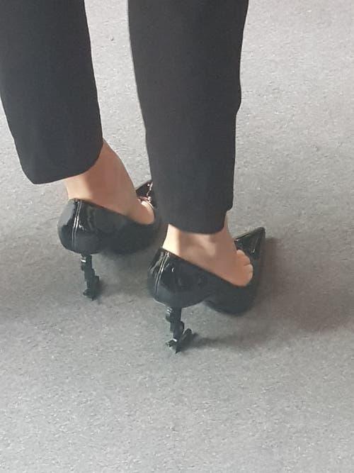 High Heels von Yves Saint-Laurent.