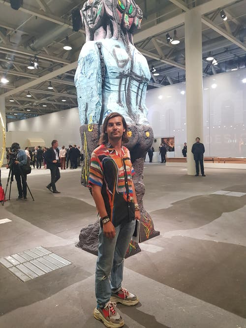 Domenico Positano, Kunstfreund aus Mailand.