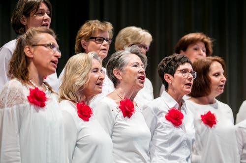 Der Frauenchor Schwyz. (Bild: Philipp Schmidli, Hitzkirch, 16. Juni 2019)
