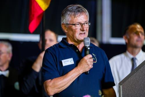 OK-Präsident Josef Elmiger. (Bild: Philipp Schmidli, Hitzkirch, 16. Juni 2019)