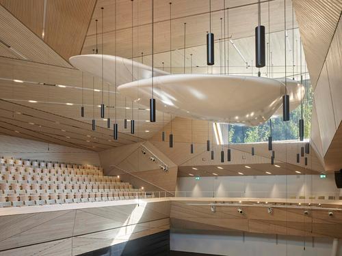 Blick in den Konzertsaal. (Bild: Roland Halbe, Andermatt, 14. Juni 2019)