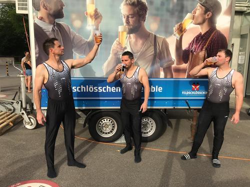 Der TV Wolhusen am Eidgenössischen Turnfest – Impressionen. (Bild: TV Wolhusen, Aarau)
