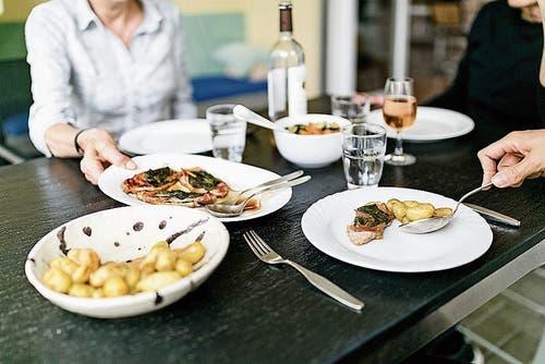 Nur wertvolle Nahrungsmittel kommen auf den Tisch. (Bild: Sandra Ardizzone)
