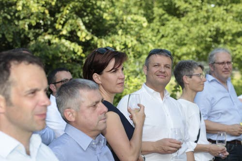 Gäste aus Politik und Wirtschaft waren anwesend. (Bild: Florian Arnold, 19. Juni 2019)
