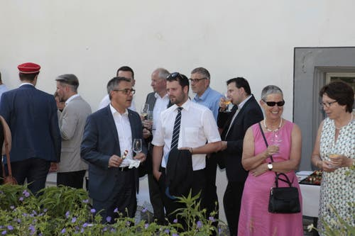 Viele Gäste kamen zur Feier. (Bild: Florian Arnold, 19. Juni 2019)