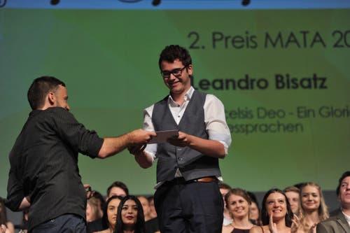 Leandro Bisatz gewann bei den Maturarbeiten den 2. Preis. (Bild: Urs Hanhart, Altdorf, 19. Juni 2019)