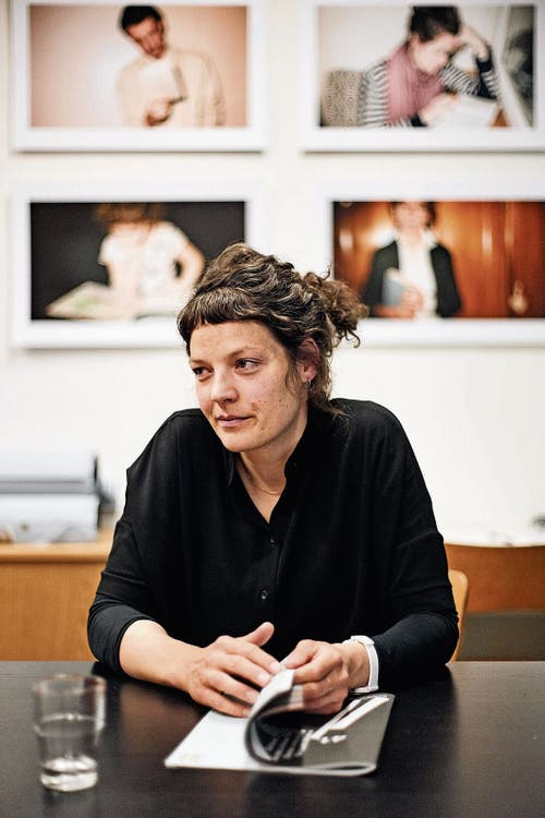 Reina Gehrig, Geschäftsführerin der Solothurner Literaturtage. Sie eröffnete die diesjährigen Literaturtage. (Bild: Roland Schmid)