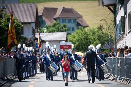 Die MG Wauwil an der Parade. (Bild: Roger Grütter, Altishofen, 2. Juni 2019)