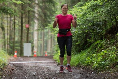 Impressionen vom ersten Swisstrail-Run auf die Fräkmüntegg. (Bild: Boris Bürgisser, Kriens, 22. Juni 2019)