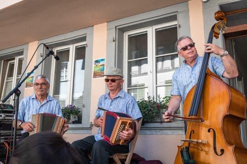 Das Trio Fyraabig.