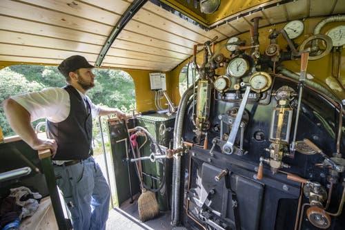 Von 2016 bis 2018 wurde die Lokomotive umfassend revidiert. (Bild: Urs Flüeler / Keystone, 25. Juni 2019)