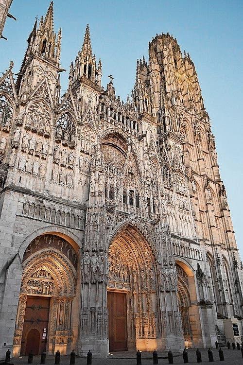 Der prächtige Dom von Rouen.