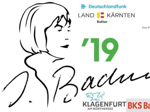 In den folgenden Tagen wetteifern 14 Autorinnen und Autoren mit eigens für den Wettbewerb geschriebenen Texten um den Bachmann-Preis. (Bild: Handout: Logo der 43. Tage der deutschsprachigen Literatur in Kl)