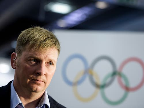 Vom IOC als Dopingsünder überführt, in der Heimat aber immer noch ein Held: Alexander Subkow war nach seinem Rücktritt Präsident des russischen Bobverbands (Bild: KEYSTONE/JEAN-CHRISTOPHE BOTT)