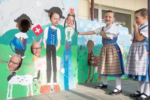 Auch die Kleinen sind mit von der Partie. (Bild: Boris Bürgisser, Horw, 28.06.2019)