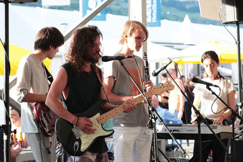 Riverstones bei ihrem Auftritt (Bild: Roger Zbinden, 1. Juni 2019)
