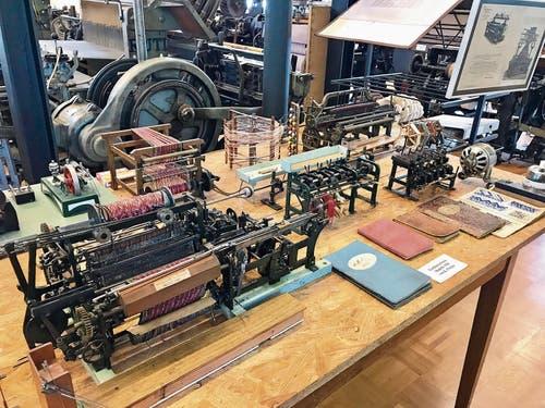 Niederbüren: Das Textilmuseum beherbergt viele funktionstüchtige Zeitzeugnisse des industriellen Aufbruchs. (Bild: Andrea Häusler)