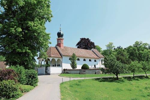 Bronschhofen: Die Wallfahrtskirche Maria Dreibrunnen stammt aus dem Mittelalter.