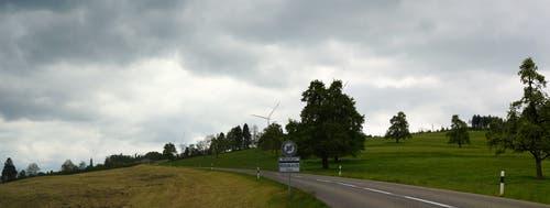 Visualisierung Dorfeinfahrt Geltwil. (z.V.g.)