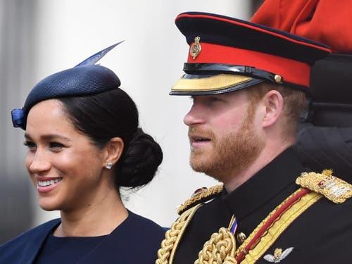 Herzogin Meghan und Prinz Harry. (Bild: KEYSTONE/EPA/NEIL HALL)