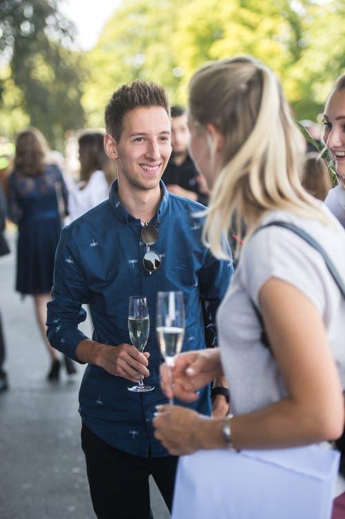 Impressionen der Abschlussfeier der Detailhandelsberufe. (Bild: Dominik Wunderli, KKL Luzern, 4. Juli 2019)