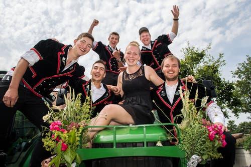Impressionen der Abschlussfeier der landwirtschaftlichen Berufe. (Bild: Eveline Beerkircher, Berufsbildungszentrum Schüpfheim, 3. Juli 2019)