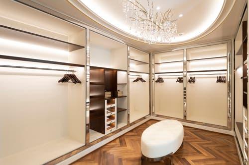 Das Ankleidezimmer in der King Suite. (Bild: Ralph Ribi)