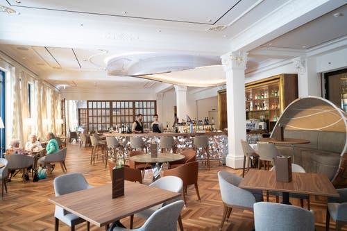 Das neue Health und Lifestyle Restaurant «Verve» von Sven Wassmer. (Bild: Ralph Ribi)