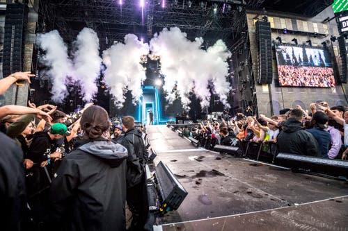 Konzert von G-Eazy. (Bild: Andrea Stalder)