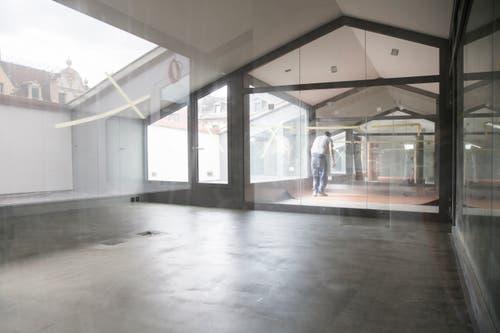 Dachgeschoss, das neu genutzt wird. (Bild: Manuela Jans-Koch, Luzern, 11. Juli 2019)
