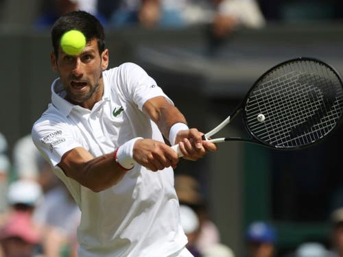 Titelverteidiger Novak Djokovic ist Favorit (Bild: KEYSTONE/AP POOL Reuters/CARL RECINE)