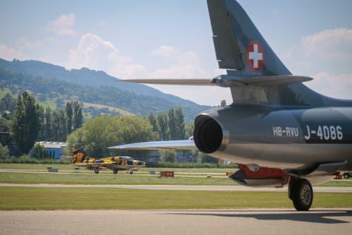 Ein Grossteil der Flieger, die in Altenrhein stehen, werden noch geflogen. (Bild: Raphael Rohner)